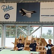 NLD/Hoogeveen/20190918 - Koningspaar brengt bezoek Zuid-west Drenthe, Fokker Fabriek