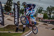 #436 (MIR Amidou) FRA at the 2016 UCI BMX Supercross World Cup in Santiago del Estero, Argentina