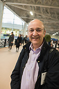 David Levenson:, The London book Fair, Olympia, London, 12 March 2019