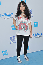 Alessia Cara arrives at We Day California 2017 held at The Forum in Inglewood, CA on Thursday, April 27, 2017. (Photo By Sthanlee B. Mirador) *** Please Use Credit from Credit Field ***