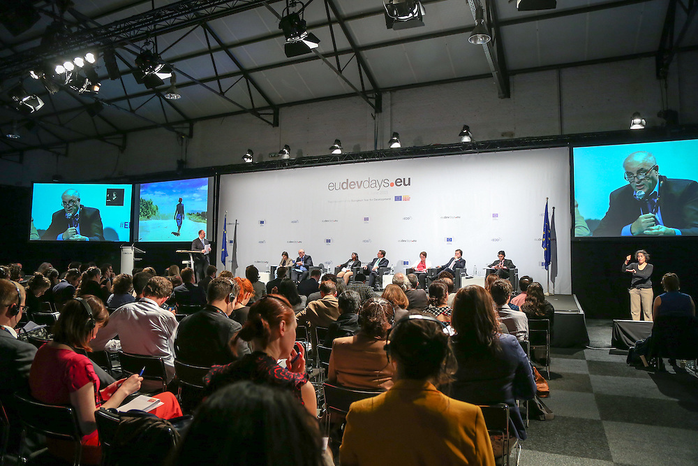 04 June 2015 - Belgium - Brussels - European Development Days - EDD - Citizenship - How can development cooperation effectively fight corruption and promote good governance? © European Union