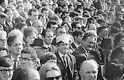 Crowds of supporters watching the All Ireland Senior Gaelic Football Final Kerry v Down in Croke Park on the 22nd September 1968. Down 2-12 Kerry 1-13.