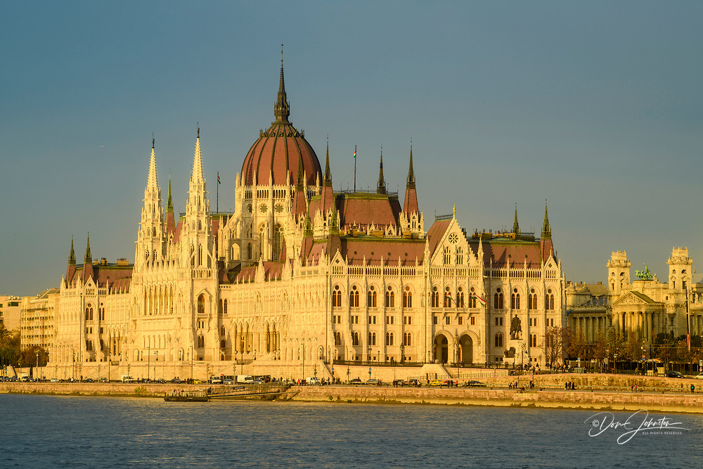 Hungarian Parliament buildings, Budapest, Central Hungary, Hungary