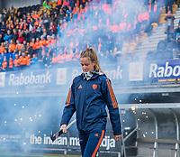Den Bosch - Rabo fandag 2019 . hockey clinics met de spelers van het Nederlandse team. opkomst van international Felice Albers (Ned)  COPYRIGHT KOEN SUYK