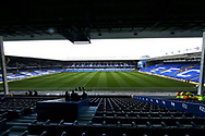 General view of Goodison before the Premier League match between Everton and Chelsea at Goodison Park, Liverpool, England on 17 March 2019.