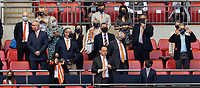 Blackpool owner Simon Sadler in the Directors box <br /> <br /> Photographer Andrew Kearns/CameraSport<br /> <br /> The EFL Sky Bet League One Play-Off Final - Blackpool v Lincoln City - Sunday 30th May 2021 - Wembley Stadium - London<br /> <br /> World Copyright © 2021 CameraSport. All rights reserved. 43 Linden Ave. Countesthorpe. Leicester. England. LE8 5PG - Tel: +44 (0) 116 277 4147 - admin@camerasport.com - www.camerasport.com