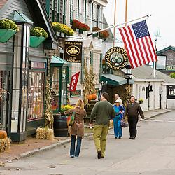 Street scene, Newport, Rhode Island.