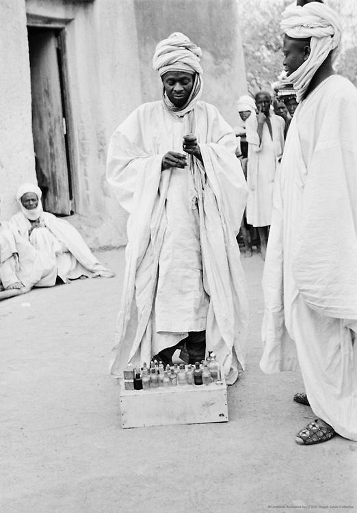Traveling Apothecary, Zaria, Nigeria, Africa, 1937