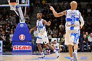 DESCRIZIONE : Campionato 2014/15 Dinamo Banco di Sardegna Sassari - Enel Brindisi<br /> GIOCATORE : Jerome Dyson<br /> CATEGORIA : Esultanza<br /> SQUADRA : Dinamo Banco di Sardegna Sassari<br /> EVENTO : LegaBasket Serie A Beko 2014/2015<br /> GARA : Dinamo Banco di Sardegna Sassari - Enel Brindisi<br /> DATA : 27/10/2014<br /> SPORT : Pallacanestro <br /> AUTORE : Agenzia Ciamillo-Castoria / Luigi Canu<br /> Galleria : LegaBasket Serie A Beko 2014/2015<br /> Fotonotizia : Campionato 2014/15 Dinamo Banco di Sardegna Sassari - Enel Brindisi<br /> Predefinita :