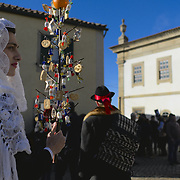 The celebration of the Festa do Santo Menino (Holy Toddler's Festival), an event that takes place in the first day of the year at Tó, a village in the Norteastnern corner of Portugal, and that traces it's origins to the pre-christian fertility festivals of winter solstice. In it three characters (Farandulo, Rapaz, Sércia) will roam the village's streets doing a Good versus Evil performance.