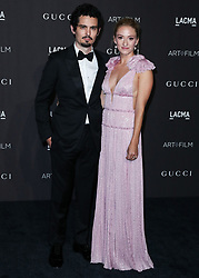 LOS ANGELES, CA, USA - NOVEMBER 03: 2018 LACMA Art + Film Gala held at the Los Angeles County Museum of Art on November 3, 2018 in Los Angeles, California, United States. 03 Nov 2018 Pictured: Damien Chazelle, Olivia Hamilton. Photo credit: Xavier Collin/Image Press Agency/MEGA TheMegaAgency.com +1 888 505 6342