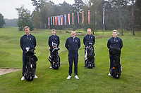 HILVERSUM -  Team Iceland / IJsland.  ELTK Golf  2020 The Dutch Golf Federation (NGF), The European Golf Federation (EGA) and the Hilversumsche Golf Club will organize Team European Championships for men.  COPYRIGHT KOEN SUYK