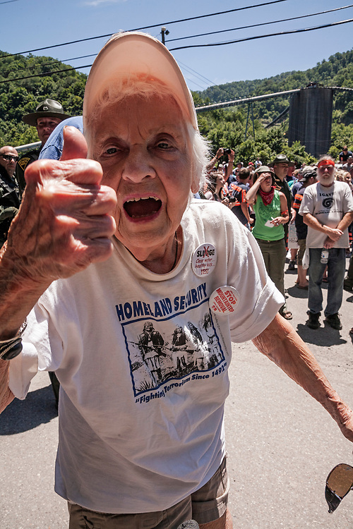 Winnie Fox, Mountaintop Removal mining activist at over 90 years old