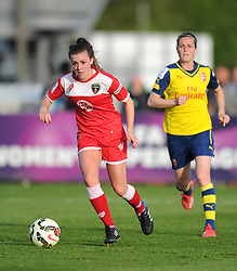 Bristol Academy's Georgia Evans - Photo mandatory by-line: Paul Knight/JMP - Mobile: 07966 386802 - 09/05/2015 - SPORT - Football - Bristol - Stoke Gifford Stadium - Bristol Academy Women v Arsenal Ladies FC - FA Women's Super League