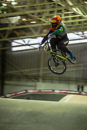#93 (STEVAUX CARNAVAL Priscilla Andreia) BRA during practice at the 2019 UCI BMX Supercross World Cup in Manchester, Great Britain
