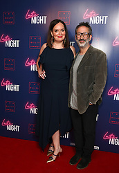 Deborah Francis-White and David Baddiel attending the LATE NIGHT Gala Screening at Picture House Central, London. Picture dated: Monday May 20, 2019. Photo credit should read: Isabel Infantes / EMPICS Entertainment.