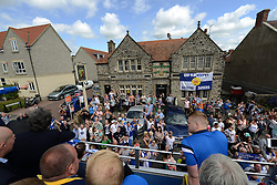 Fans look on during the Bristol Rovers tour - Photo mandatory by-line: Dougie Allward/JMP - Mobile: 07966 386802 - 25/05/2015 - SPORT - Football - Bristol - Bristol Rovers Bus Tour