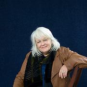 EDINBURGH, SCOTLAND - AUGUST25. Author Isla Dewar poses during a portrait session held at Edinburgh Book Festival on August 25, 2006  in Edinburgh, Scotland. (Photo by Marco Secchi/Getty Images).