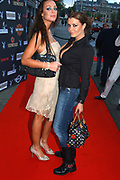 Olga Urashova (right) and Dorien Rose (Playmate of the year 2004) (left)