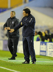 Bristol Rovers assistant manager, Darrell Clarke - Photo mandatory by-line: Joe Meredith/JMP - Tel: Mobile: 07966 386802 14/01/2014 - SPORT - FOOTBALL - St Andrew's Stadium - Birmingham - Birmingham City v Bristol Rovers - FA Cup - Third Round