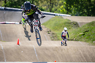 #120 (PELLUARD Vincent) FRA during practice of Round 3 at the 2018 UCI BMX Superscross World Cup in Papendal, The Netherlands