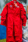 Mini Red Arrows flying suits for sale - Duxford Battle of Britain Air Show taking place during IWM (Imperial War Museum) Duxford's centenary year. Duxford's principle role as a Second World War fighter station is celebrated at the Battle of Britain Air Show by more than 40 historic aircraft taking to the skies.