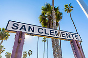 San Clemente Landmark Signage