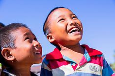 Naga Children, Mon, Nagaland, India