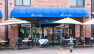 Washington, DC, USA --  May 6, 2018. Photo of the Peacock Cafe in the Georgetown section of Washington, DC.
