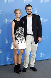61040881<br /> Diane Kruger and  A.J. Edwards during the The Better Angels photocall at the 64th Berlin International Film Festival / Berlinale 2014, Berlin, Germany, Monday, 10th February 2014. Picture by  imago / i-Images<br /> UK ONLY