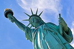Statue of Liberty, New York The Statue of Liberty on Liberty Island, New York City