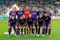 ACF Fiorentina's team photo during Santiago Bernabeu Trophy. August 23,2017. (ALTERPHOTOS/Acero)