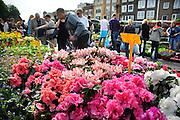 Nederland, Nijmegen, 10-5-2008..Bloemenmarkt in het centrum van de stad...Foto: Flip Franssen/Hollandse Hoogte