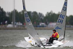 Ivan Kljakovic Ga, 2nd overall. May 29th, Delta Lloyd Regatta in Medemblik, The Netherlands (26/30 May 2011).