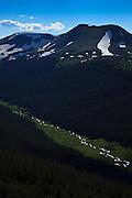 USA, Colorado, Rocky Mountain National Park,  the Cache La Poudre River Valley