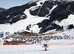 13.02.2020, Zwölferkogel, Saalbach Hinterglemm, AUT, FIS Weltcup Ski Alpin, Abfahrt, Herren, im Bild Daniel Danklmaier (AUT) // Daniel Danklmaier of Austria in action during his run for the men's Downhill of FIS Ski Alpine World Cup at the Zwölferkogel in Saalbach Hinterglemm, Austria on 2020/02/13. EXPA Pictures © 2020, PhotoCredit: EXPA/ Johann Groder