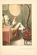 fanning snake From the book Mr. Munchausen; being a true account of some of the recent adventures beyond the Styx of the late Hieronymus Carl Friedrich, sometime Baron Munchausen of Bodenwerder, as originally reported for the Sunday edition of the Gehenna Gazette by its special interviewer the late Mr. Ananias formerly of Jerusalem and now first transcribed from the columns of that journal. by Bangs, John Kendrick, (1862-1922) Published in Boston by Noyes, Platt & company 1901 with artwork by Peter Newell
