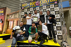 27th Annual Mooneyes Yokohama Hot Rod Custom Show 2018. Yokohama, Japan. Sunday, December 2, 2018. Photography ©2018 Michael Lichter.