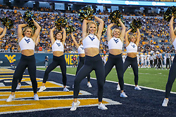 Sep 11, 2021; Morgantown, West Virginia, USA; The West Virginia Mountaineers dance team performs during the third quarter against the Long Island Sharks at Mountaineer Field at Milan Puskar Stadium. Mandatory Credit: Ben Queen-USA TODAY Sports