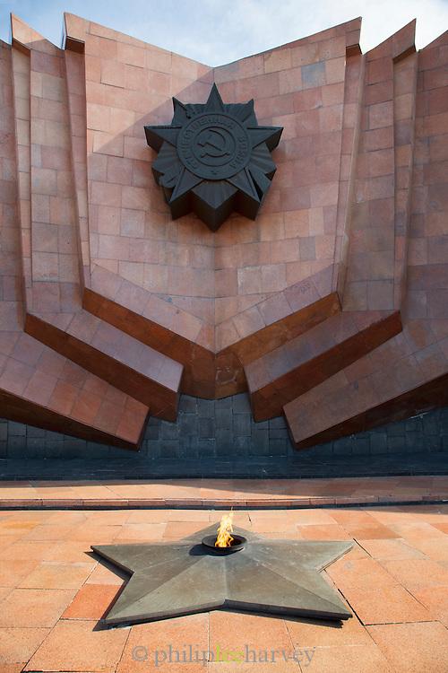 Great Patriotic War Memorial, Glory Square, Khabarovsk, Siberia, Russia