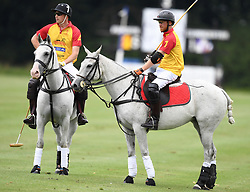 The Duke of Cambridge and Prince Harry take part in the Jerudong Trophy at Cirencester Park Polo Club, Gloucestershire, UK on the 15th July 2017. 15 Jul 2017 Pictured: Prince William, Duke of Cambridge, Prince Harry. Photo credit: James Whatling / MEGA TheMegaAgency.com +1 888 505 6342