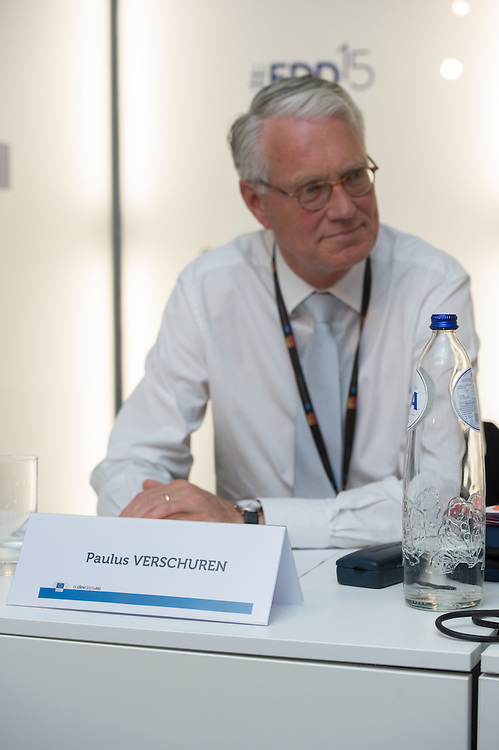 03 June 2015 - Belgium - Brussels - European Development Days - EDD - Food - Smallholder farmers powering global development - Paulus Verschuren<br /> Founder of WorldFed; Formerly Special Envoy for Food and Nutrition Security for the Dutch government © European Union