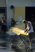 Zagreb, CROATIA.  2000 FISA World Rowing Junior & Non-Olympic Seniors Championships   [Mandatory Credit Peter Spurrier/Intersport Images]