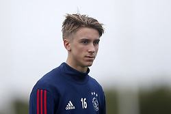 Dennis Johnsen of Ajax during a training session of Ajax Amsterdam at the Cascada Resort on January 09, 2018 in Lagos, Portugal