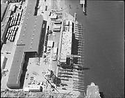 """ackroyd-18335-01 FMC. Aerials of yard. 1000'. May 29, 1973""""g"""