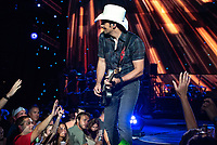Country music singer Brad Paisley performed at the PNC Bank Arts Center in Holmdel, NJ, Thursday, August 30, 2018. /Russ DeSantis for the Asbury Park Press