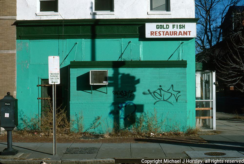 6th and G Street NW Chinatown Washington DC, 1988