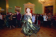 St Petersburg, Russia, 07/01/2003.Othodox Christmas Ball in the Yusopovsky Palace, where Prince Yusopovsky and friends assassinated the Russian monk Rasputin.