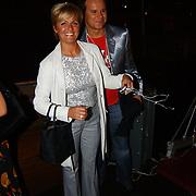 Presentatie telefoon Samsung, Caroline Tensen en Leco van Zadelhof