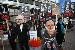 The Leveson Inquiry report which was published in London, Thursday, 29th November 2012. .Photo by:  Stephen Lock /  i-Images